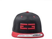 BLACK / RED EG SNAPBACK - Educ8d + Gifted