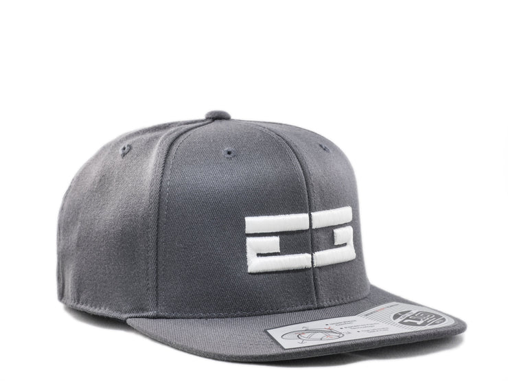 GREY / WHITE EG SNAPBACK - Educ8d + Gifted