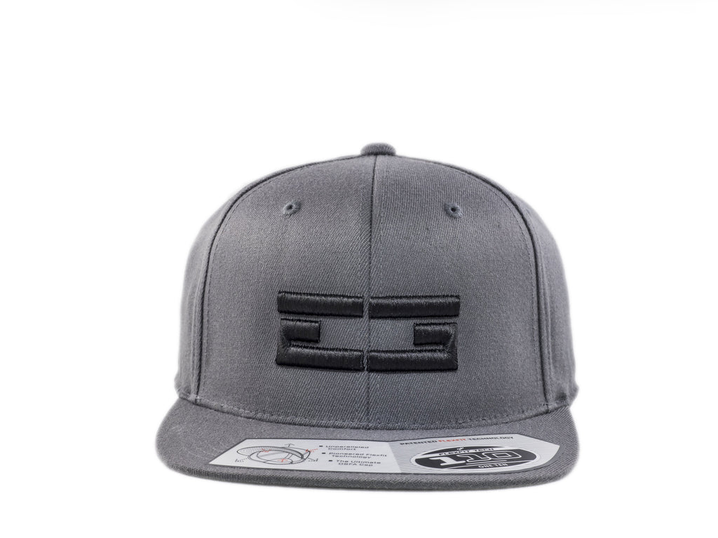 GREY / BLACK EG SNAPBACK, Hat - Educ8d + Gifted