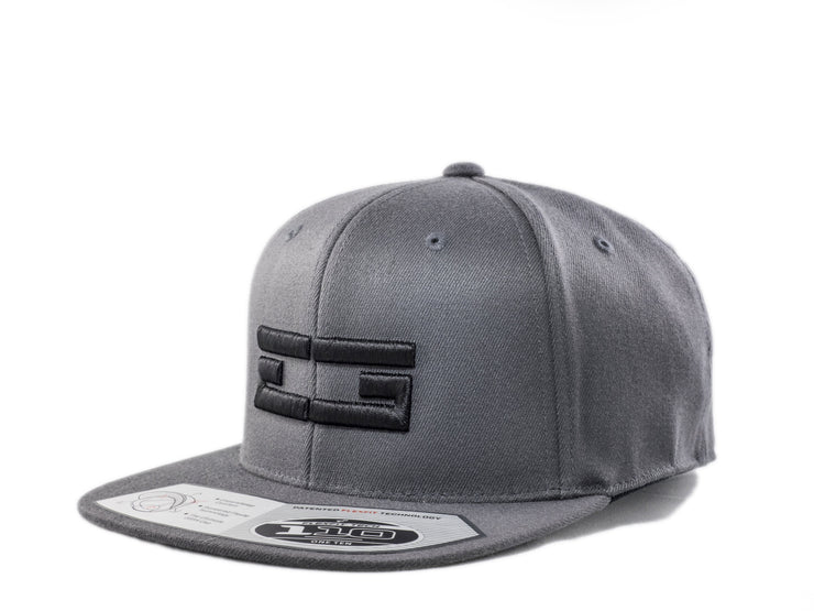 GREY / BLACK EG SNAPBACK - Educ8d + Gifted