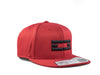 RED / BLACK EG SNAPBACK, Hat - Educ8d + Gifted