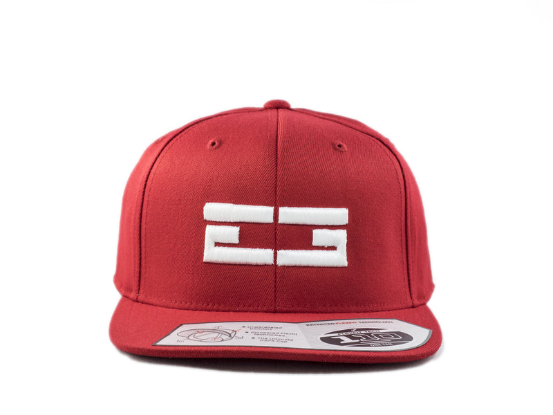 RED / WHITE EG SNAPBACK, Hat - Educ8d + Gifted
