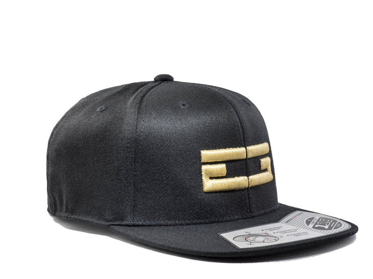 BLACK / GOLD EG SNAPBACK - Educ8d + Gifted