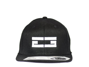 BLACK / WHITE EG SNAPBACK, Hat - Educ8d + Gifted