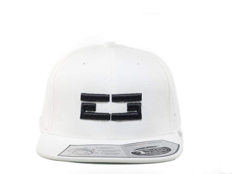 WHITE / BLACK EG SNAPBACK, Hat - Educ8d + Gifted