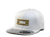 WHITE & GOLD EG SNAPBACK, Hat - Educ8d + Gifted