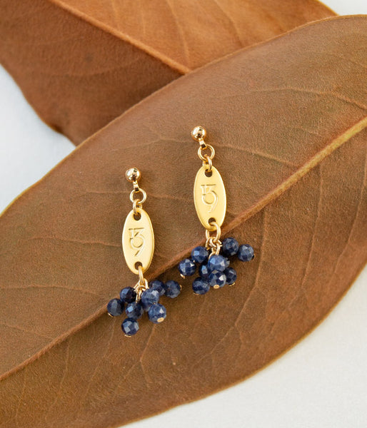 Bear Fruit Earrings