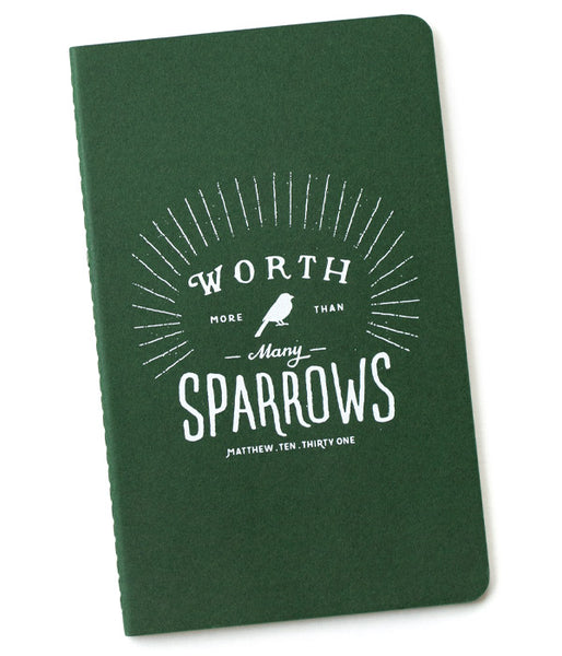 More Than Many Sparrows - Notebook