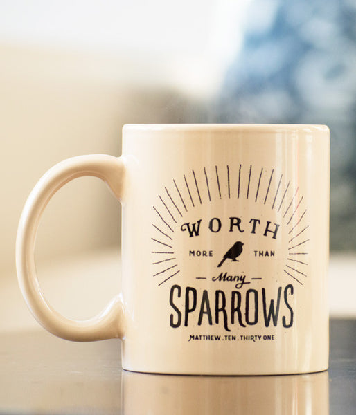 More Than Many Sparrows – Mug