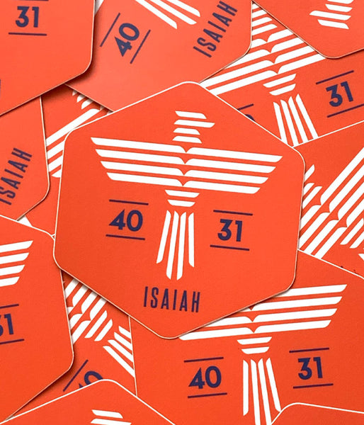 Isaiah Eagle - Sticker