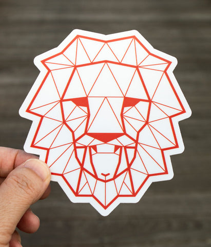 Lion & Lamb - Sticker