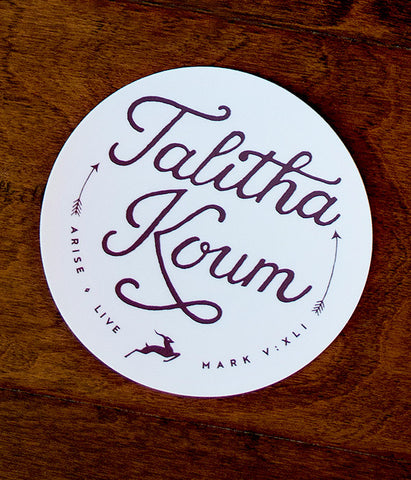 Talitha Koum - Sticker