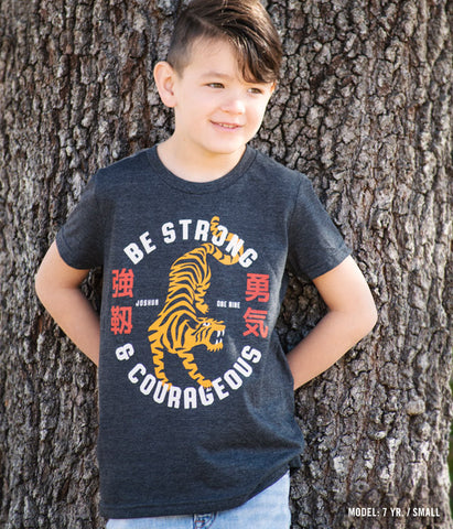 Strong and Courageous– Youth Tee