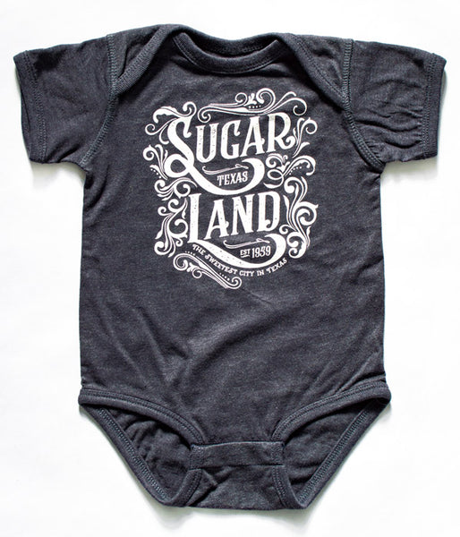 Western Sugar Land Infant Bodysuit - Indigo
