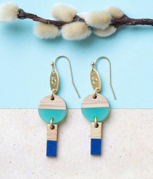 Dawn & Sea Earrings