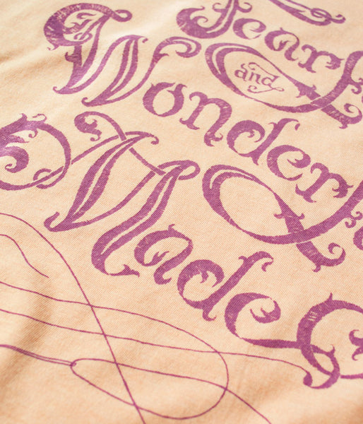 Fearfully & Wonderfully Made Tee – Heather Peach