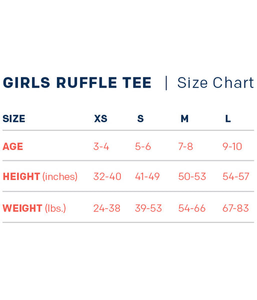 Fearfully & Wonderfully Made - Girls Ruffle Tee