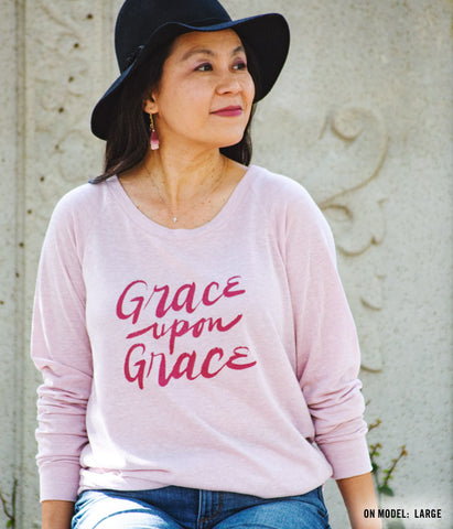 Grace Upon Grace Lightweight Pullover