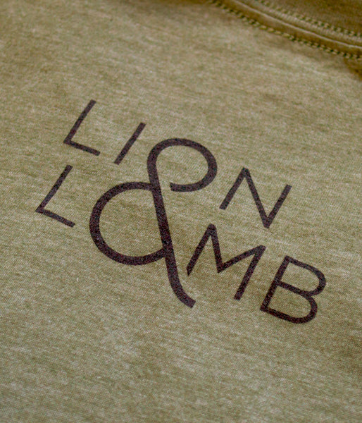 Lion & Lamb – Army Heather