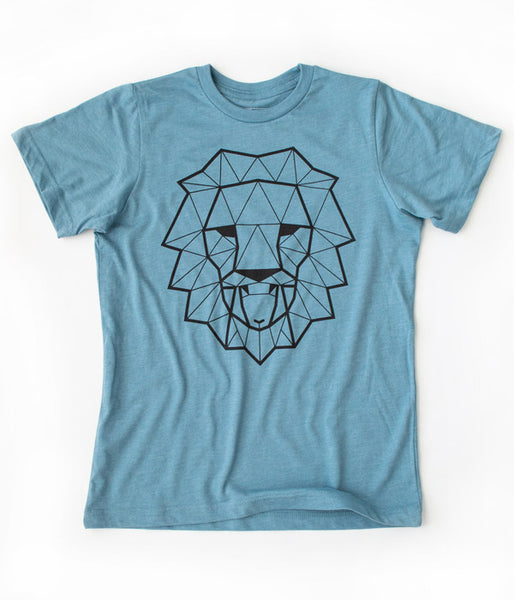 Lion & Lamb Youth Tee – Denim