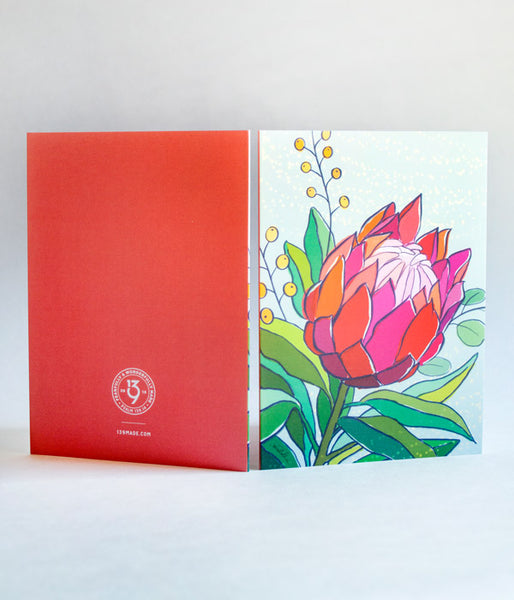 Protea Notecards – Pack of 5