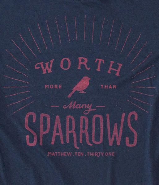 "Long-Sleeve ""More Than Many Sparrows"""