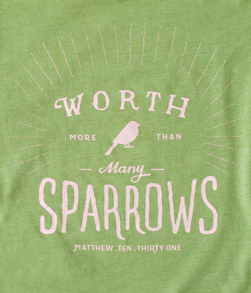 Sparrows V-Neck Tee