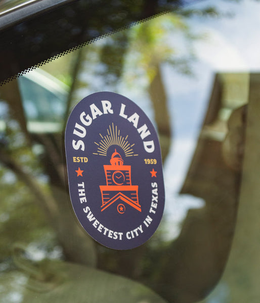 Sugar Land Stickers
