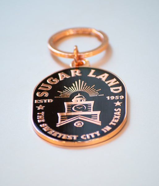 Sugar Land Keychain