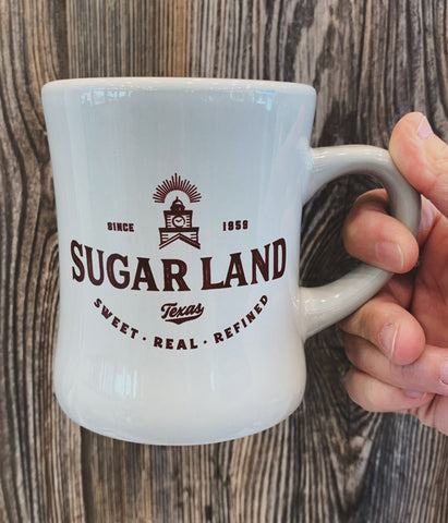 Sugar Land Diner Mug - Gray