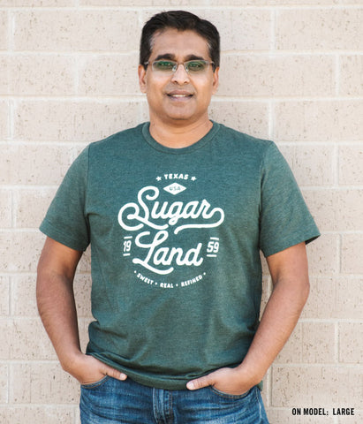 Vintage Sugar Land Tee - Heather Forest