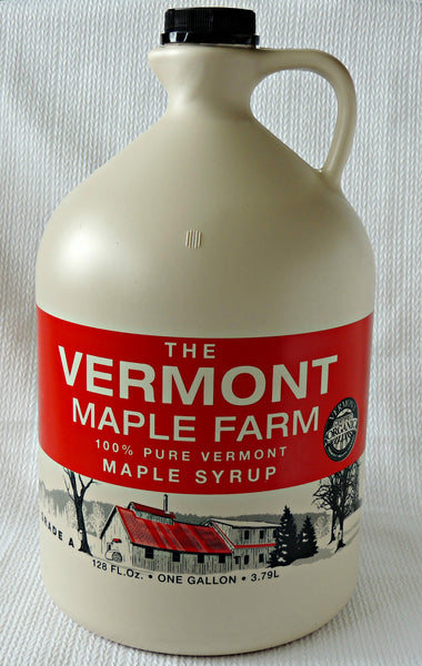 Vermont Maple Syrup - Certified Organic