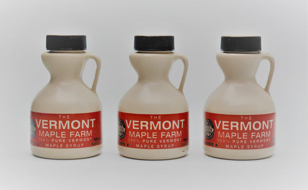 Vermont Maple Syrup - 3.4 Oz Plastic Jug