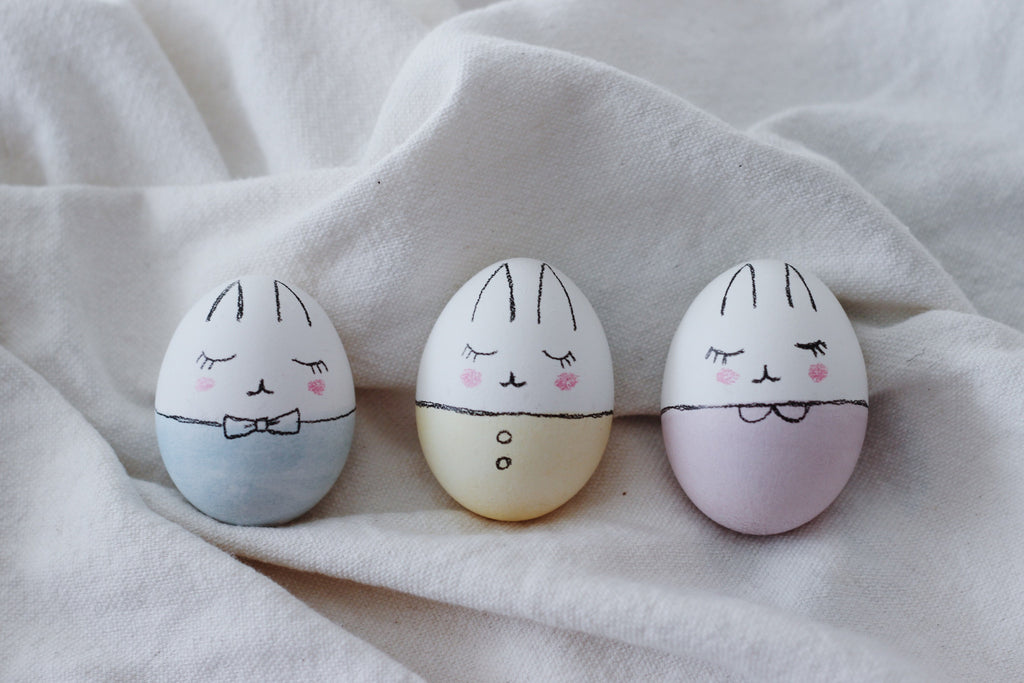 Bunny Easter Eggs DIY