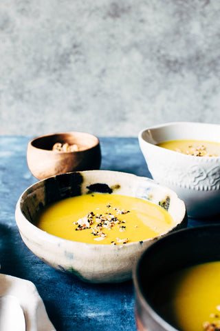 Curried Coconut Leek Soup