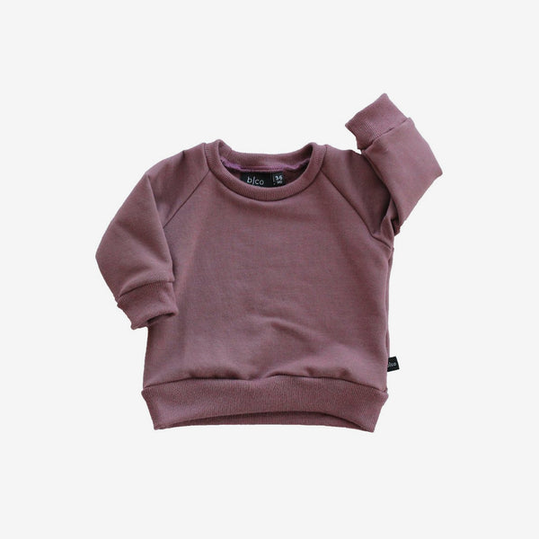 Bamboo Fleece Sweatshirt - Mauve