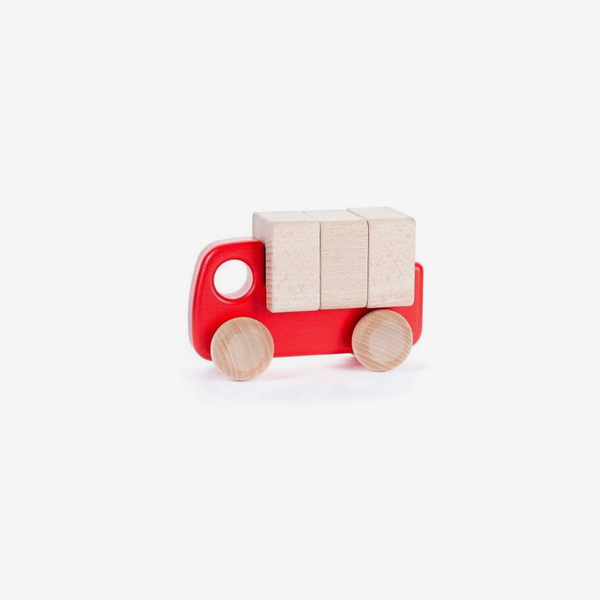 Little Wooden Lorry - Red