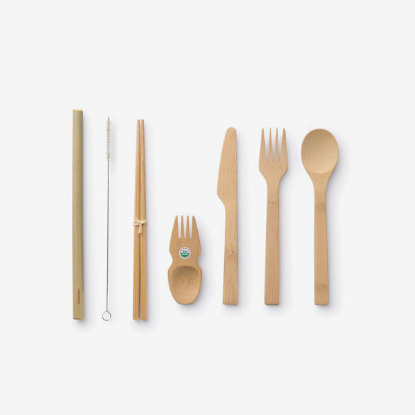 Eat/Drink Bamboo Tool Kit