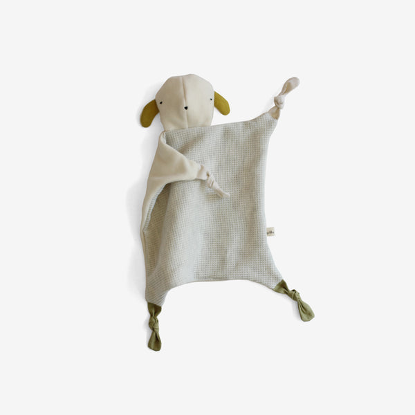 Organic Fleece Lovie - Lamby
