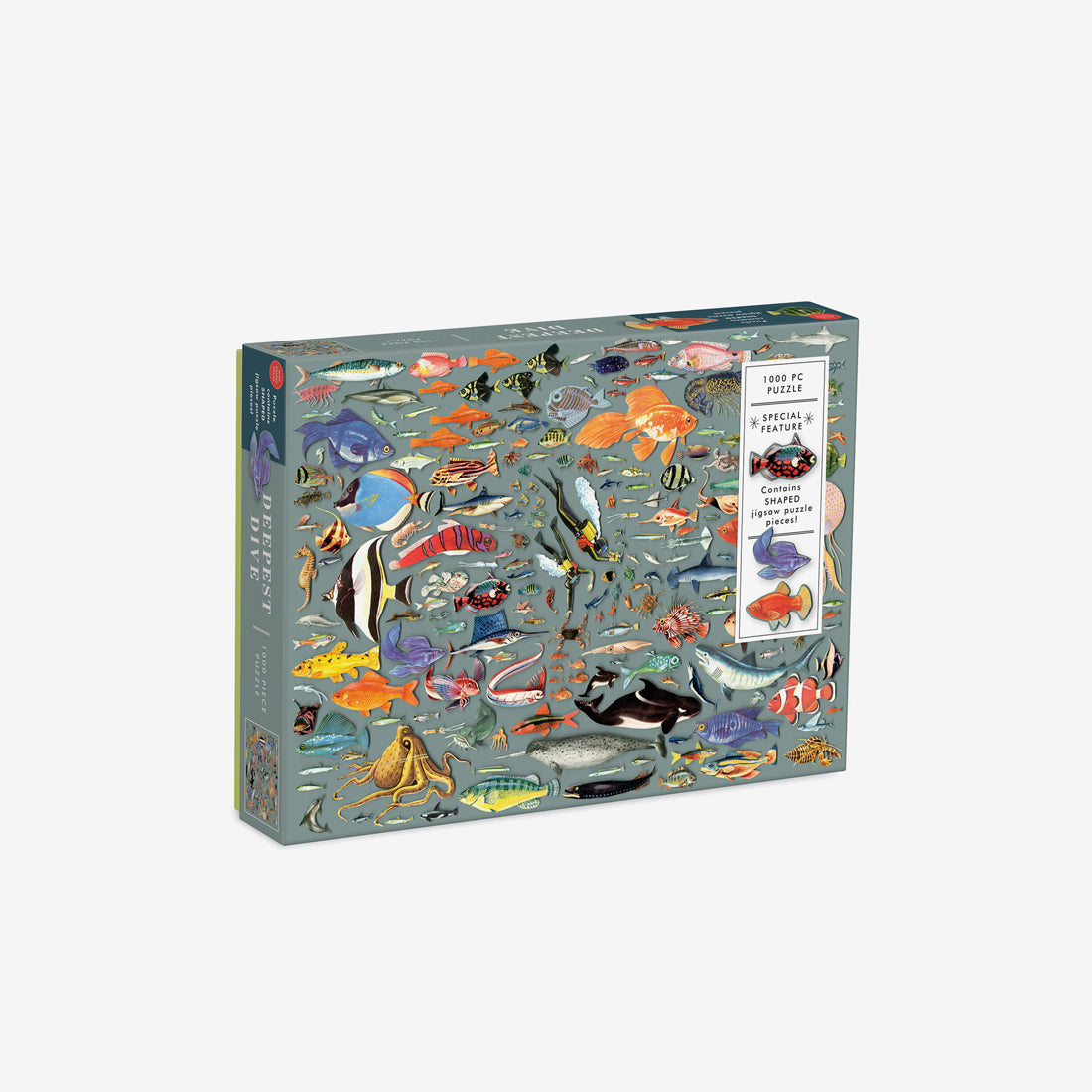 1000-Piece Jigsaw Puzzle with Shaped Pieces - Deepest Dive