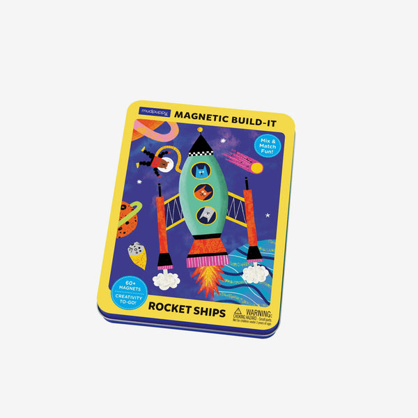 Magnetic Figures - Rocket Ships