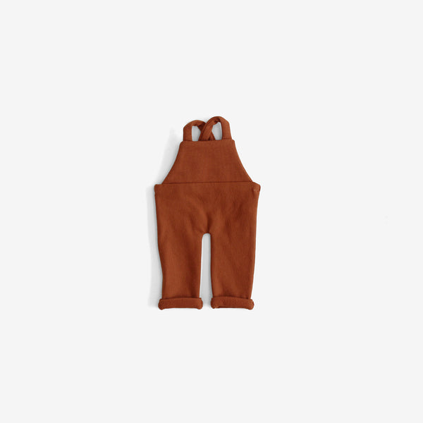 CozyMoss Animal Outfit - Rust Overalls