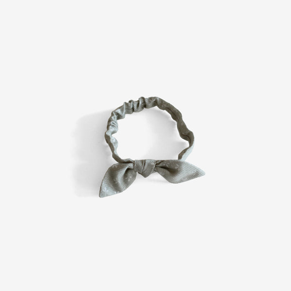 CozyMoss Headband - Grey Floral