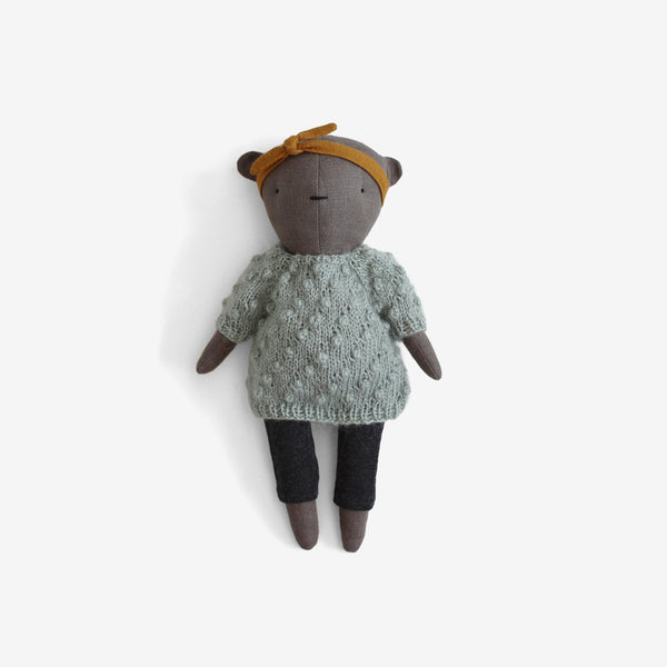 CozyMoss Bear - Quietude Seafoam