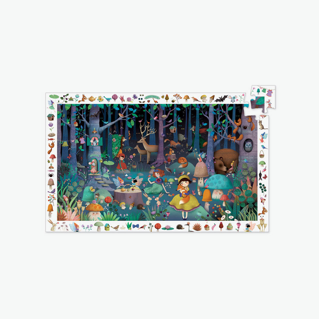 100-Piece Observation Puzzle - Enchanted Forest