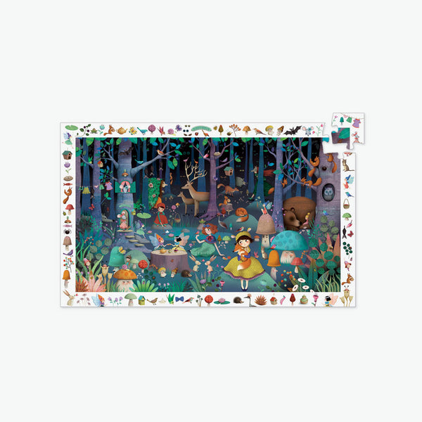 Observation Puzzle - 100-Piece Enchanted Forest