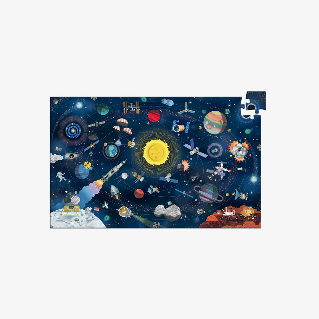 200-Piece Observation Puzzle - Space