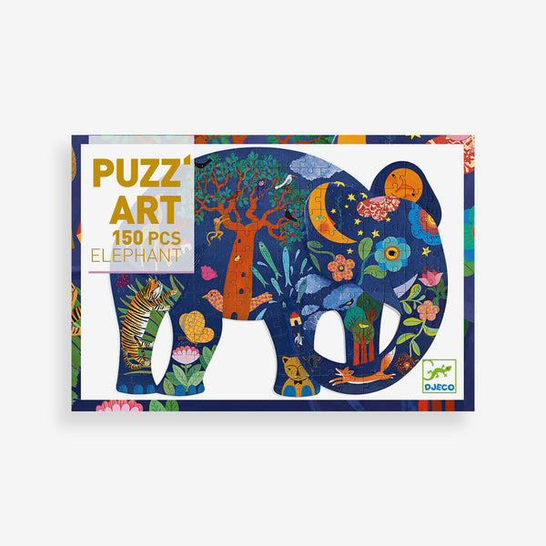 Puzz'Art - 150-piece Elephant