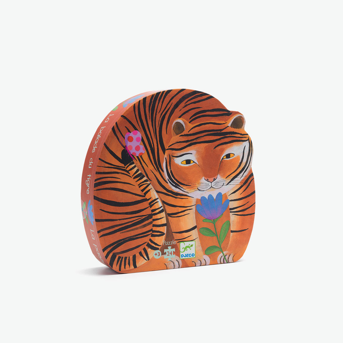 Silhouette Puzzle - The Tiger's Walk