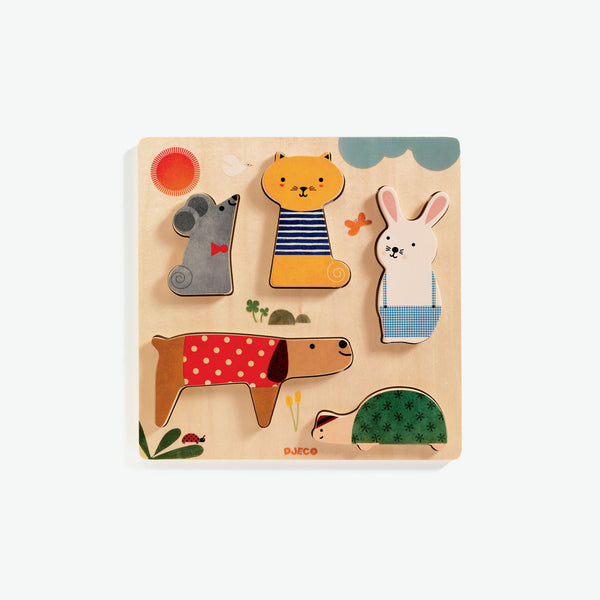 Woody Puzzles - Pets